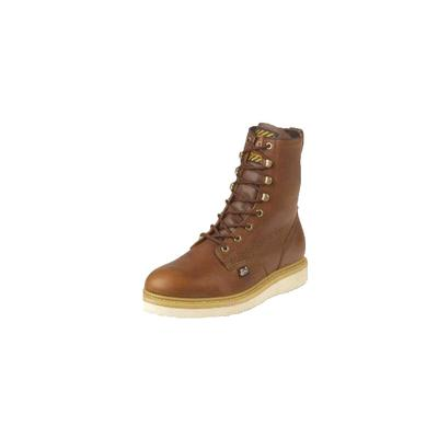 Men's Lace Up Wedge Work Boot