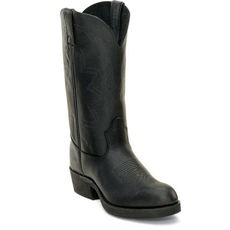 Men's Spr Leather Farm & Ranch Boot