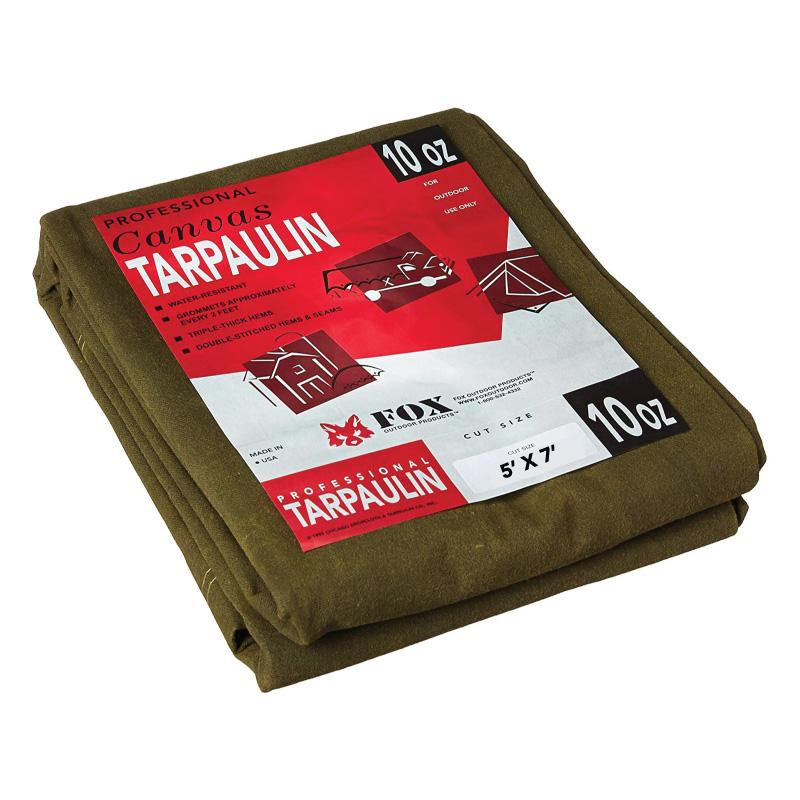 10 Oz Canvas Tarp - 05 Ft X 07 Ft
