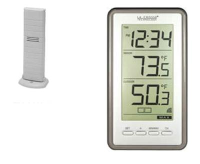 Wireless Thermometer With Time