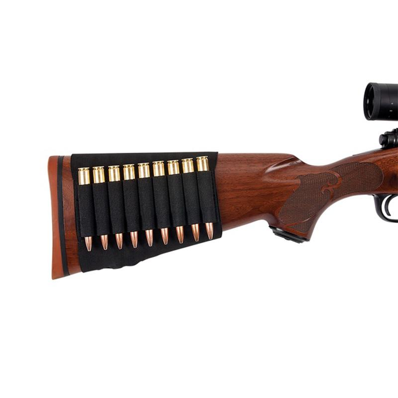 Rifle Buttstock Shell Holder