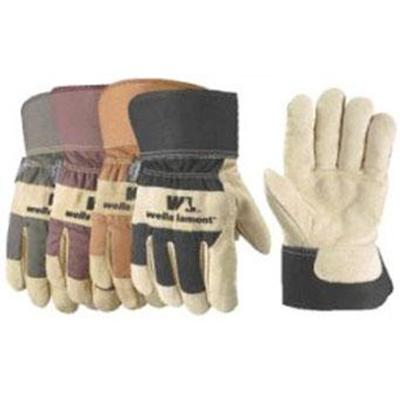 Cold Weather Suede Cowhide Gloves