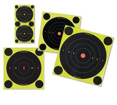 ShootNC Self-Adhesive 3, 6 and 8 Bull's-Eye Packs
