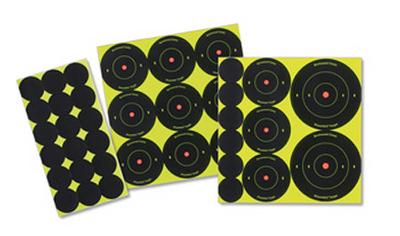 ShootNC Targets Assorted Bull's-Eye Packs