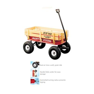 Wagon ATW Steel/Wood