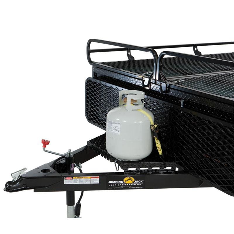 Trailer Propane Rack
