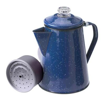 GSI Outdoors EnamelWare Perculator Coffee Pot 8 Cup