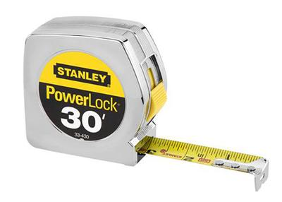30' x 1 PowerLock Tape Rule