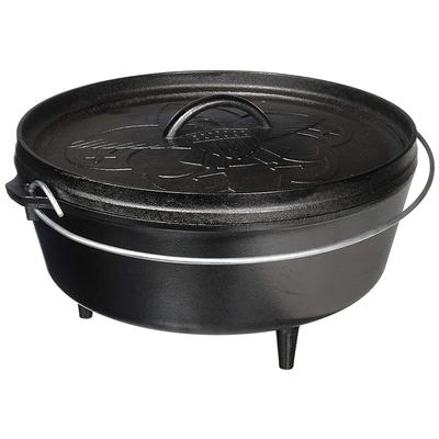 12 Inch / 6 Quart Camp Dutch Oven - BSOA