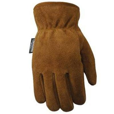 Men's Insulated Suede Cowhide Gloves