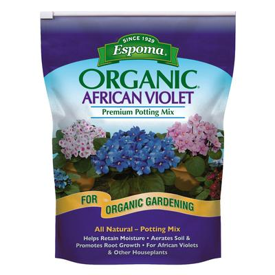 Organic African Violet Potting Mix 4 qt