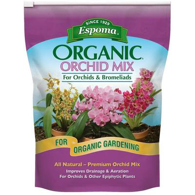 Organic Orchid Potting