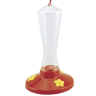 Plastic Hummingbird Feeder 8 oz