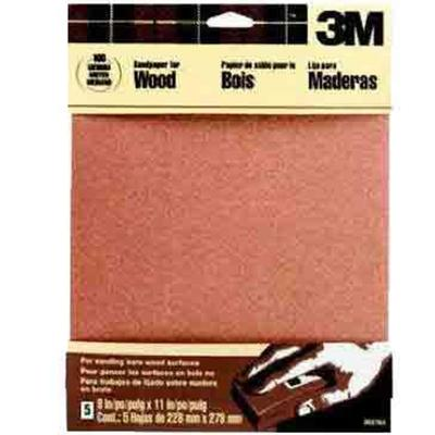 Assorted Grit Garnet Sandpaper (5 Pack)