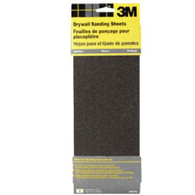 Medium Grit Drywall Sanding Sheet Sandpaper (5 Pack)