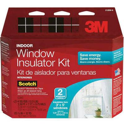 Indoor Window Insulator Kit (Two Windows)