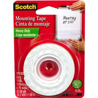 Scotch Heavy Duty Mounting Tape ½