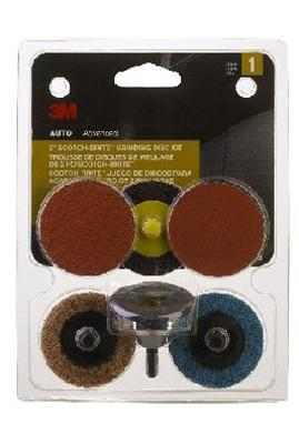 Scotch- Brite 2- Inch Grinding Disc Kit
