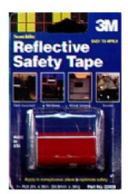 Scotchlite Red Reflective Tape - 2-Inch