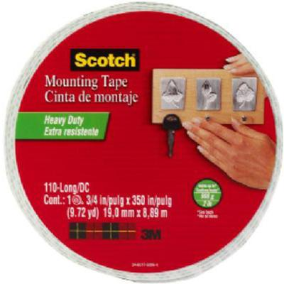 Scotch Heavy Duty Foam Mounting Tape 1