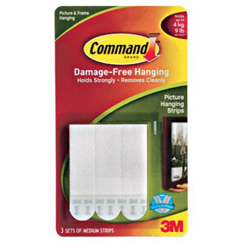 Command Medium Picture Hanging Strips (3 Pack)