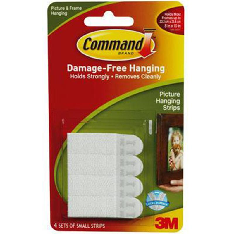 Command Small Picture Hanging Strips