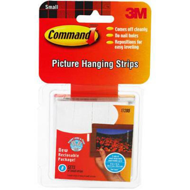 Command Small Picture Hanging Strips (Value Pack)