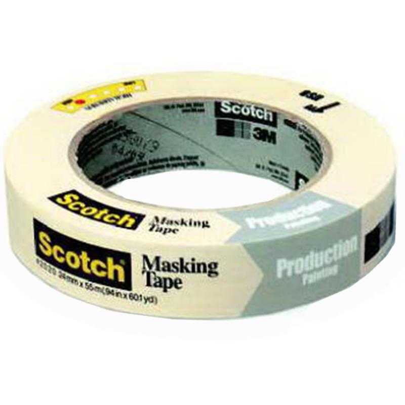 Scotch General Masking Tape .94- Inch X 60 Yards