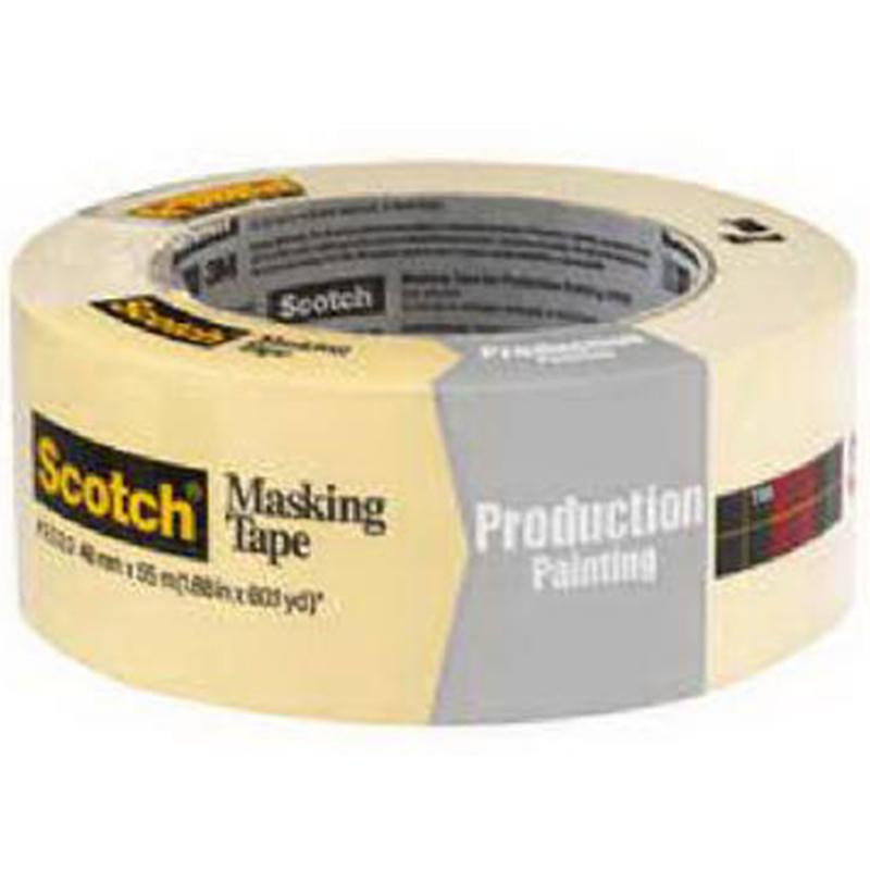 Scotch General Masking Tape 1.88- Inch X 60 Yards