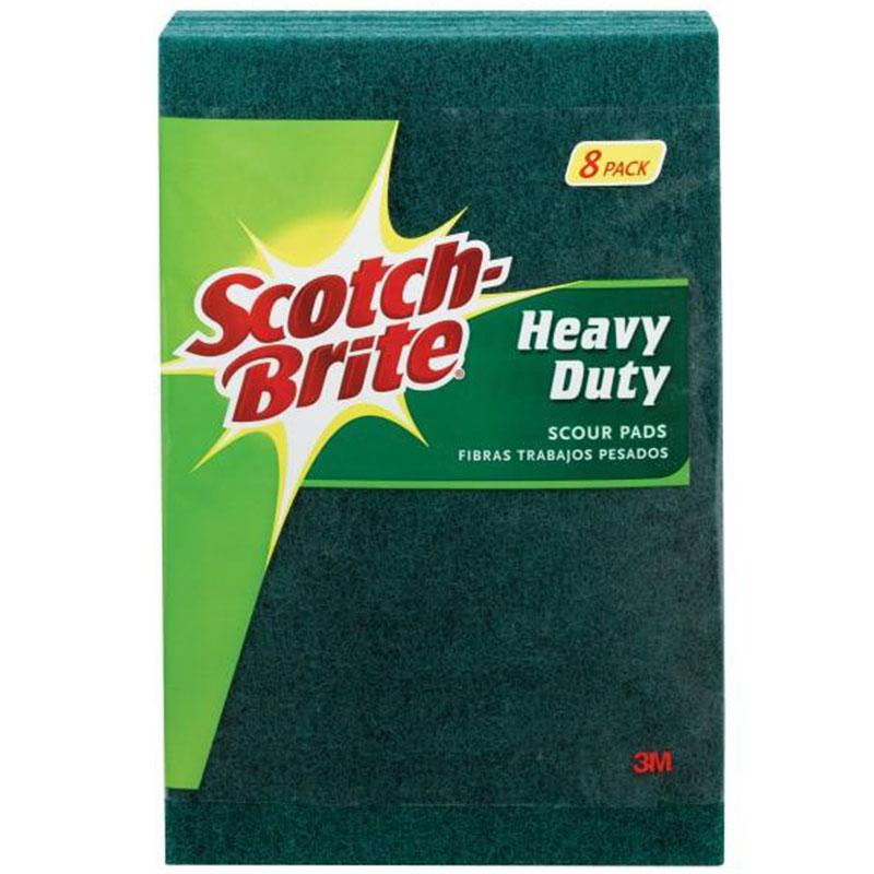 Scotch- Brite Heavy Duty Scour Pads (8 Pack)