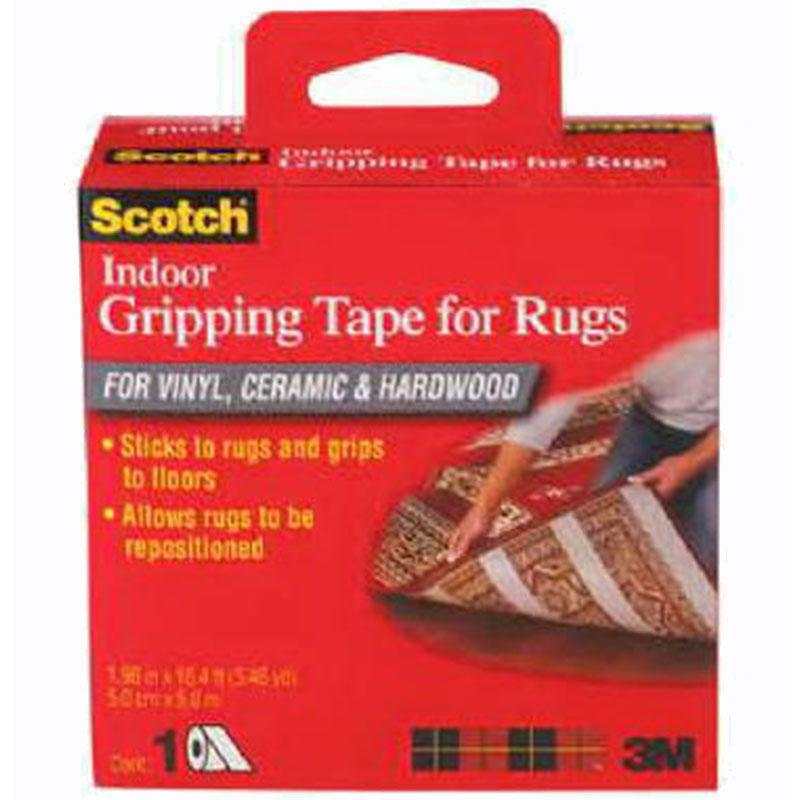 Scotch Indoor Rug Gripping Tape 1.96 Inch X 16.4 Feet