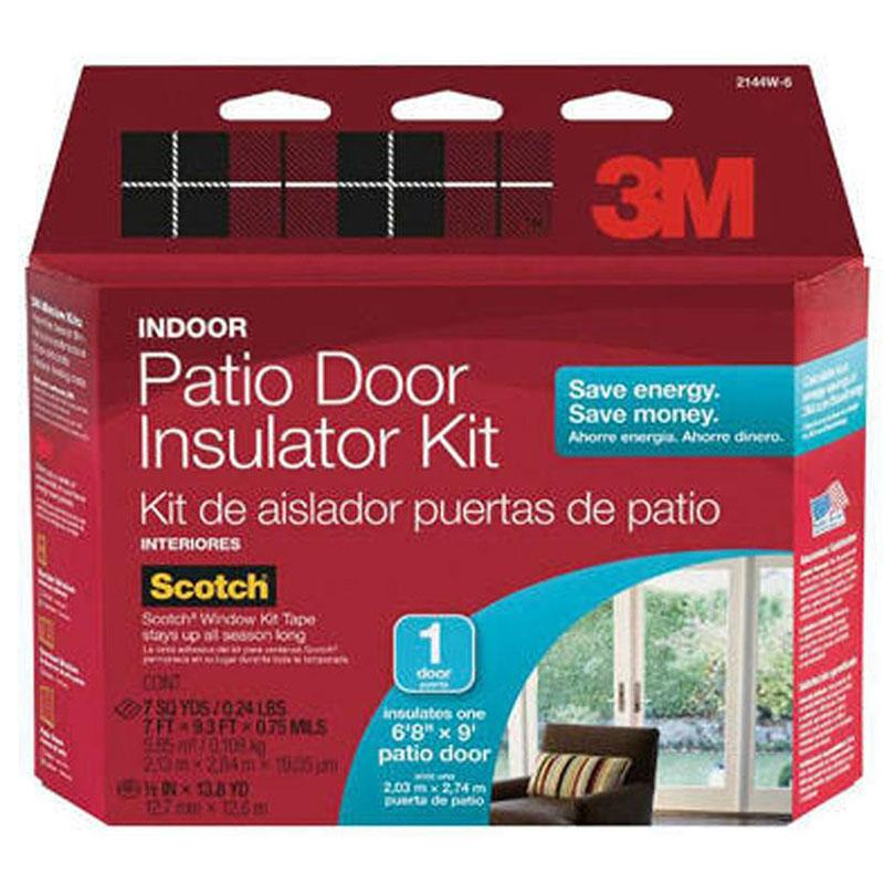 Indoor Patio Door Insulator Kit