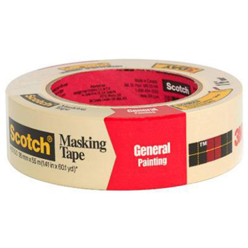 General Purpose Masking Tape 1.41 Inch X 60 Yards