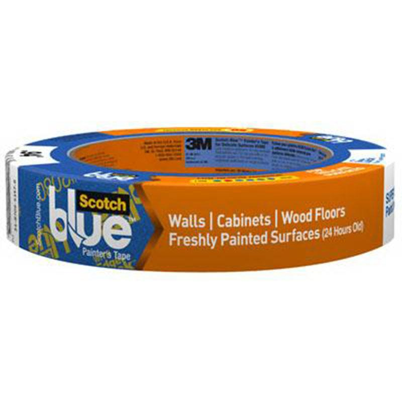 Scotchblue Advanced Delicate Surface Painter's Tape 1 Inch X 60 Yards
