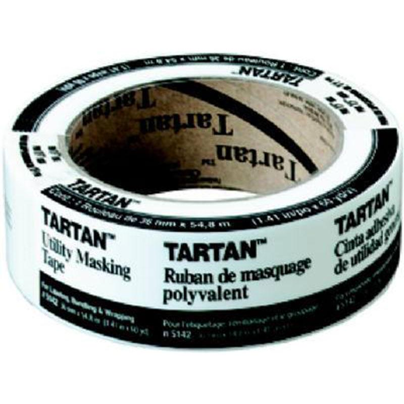 Tartan General Purpose Utility Masking Tape 1 - 2/5 X 60 Yd