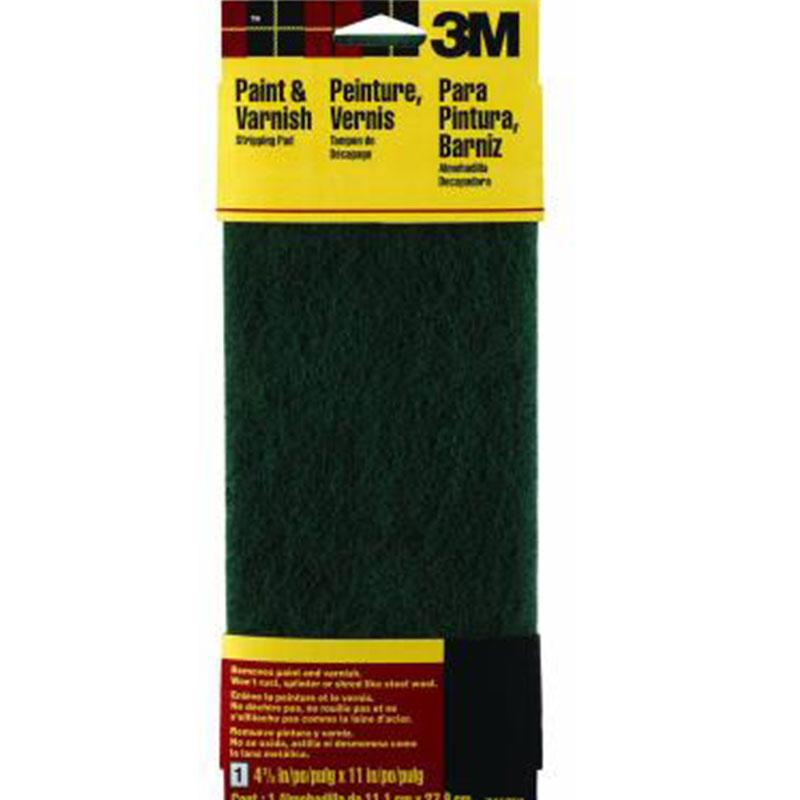 Hand Sanding Stripping Pads - Green