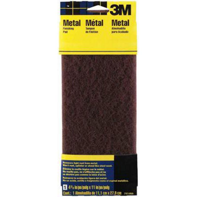 Hand Sanding Metal Finishing Pad - 7414na Maroon