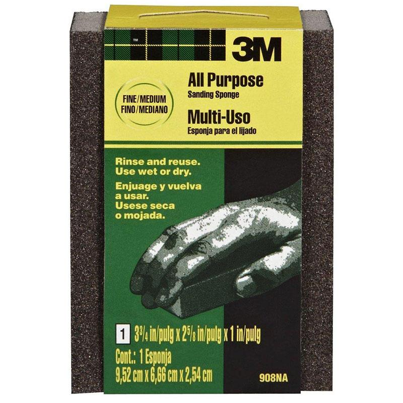 Fine/Medium Small Area Sanding Sponge