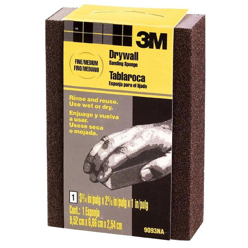 Fine/Medium Small Area Drywall Sanding Sponge