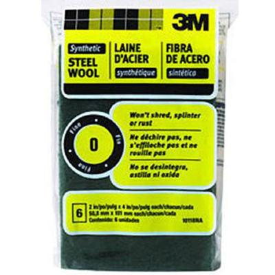 #000 Extra Fine Synthetic Steel Wool Pads