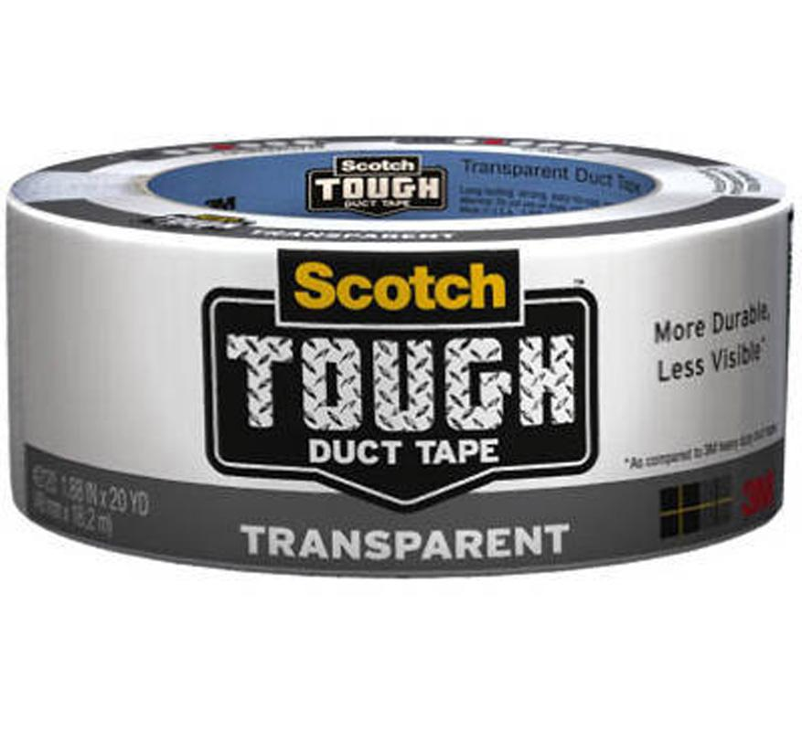 Scotch Transparent High Performance Duct Tape 2