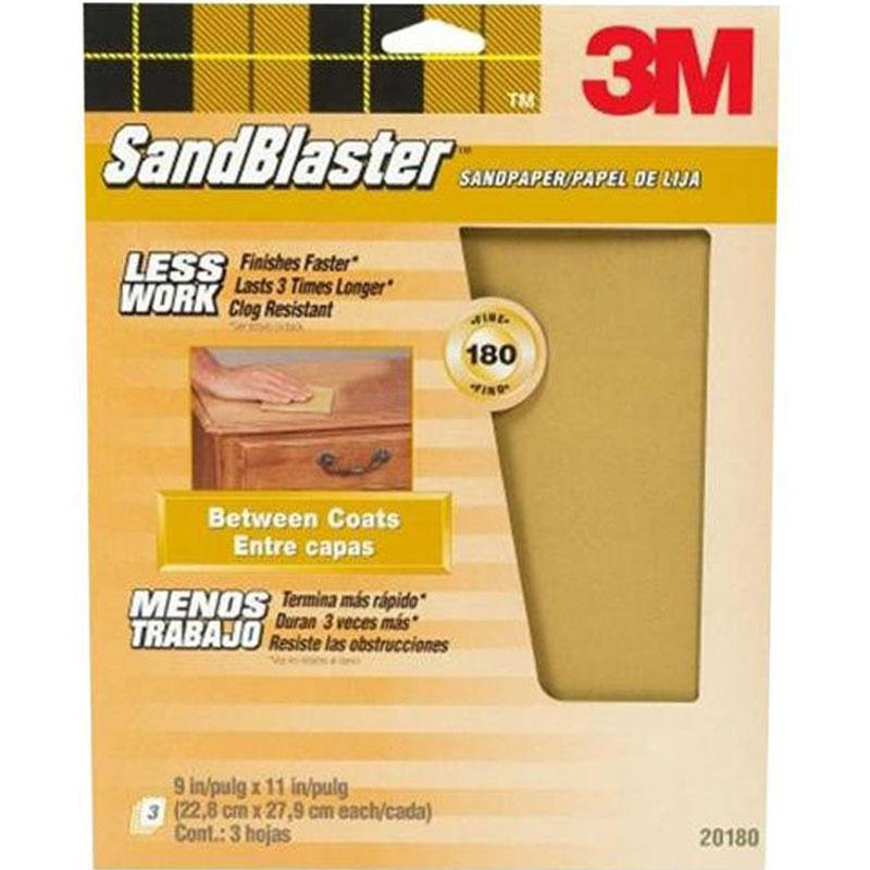 9 In.X 11 In.Sandblaster Paint Stripping Sandpaper