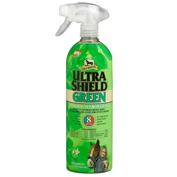 Ultrashield Green Natural Fly Repellent - 32 Oz.Spray