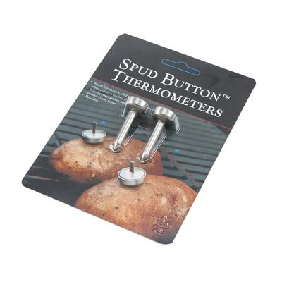Reusable Spud Button Thermometers