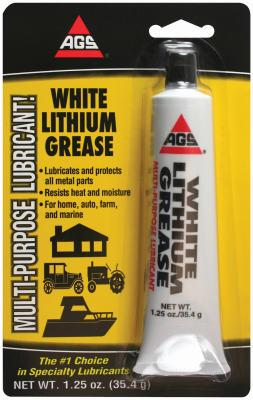 White Lithium Grease - 1.25 Oz