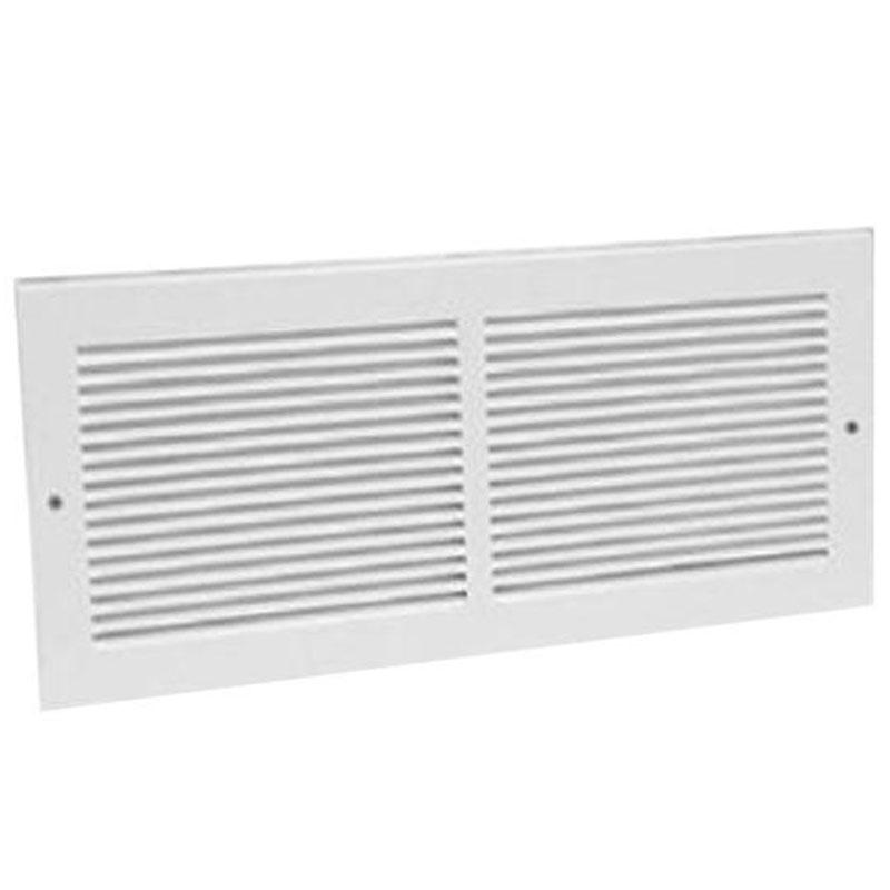 White Return Air Grille