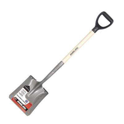 Square Point Scooping Shovel