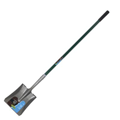 Green Thumb Square Point Shovel - Fiberglass Handle