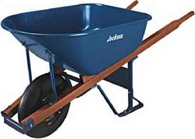 Steel Wheelbarrow - 6 Cubic Feet