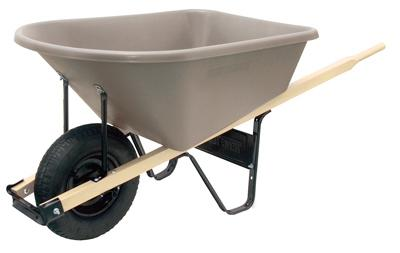 Poly Wheelbarrow - 6 Cubic Foot